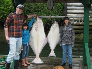 sportfishing for salmon and halibut in port renfrew BC 008