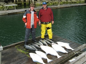 sportfishing for salmon and halibut in port renfrew BC 013