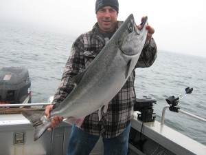 sportfishing for salmon and halibut in port renfrew BC 015